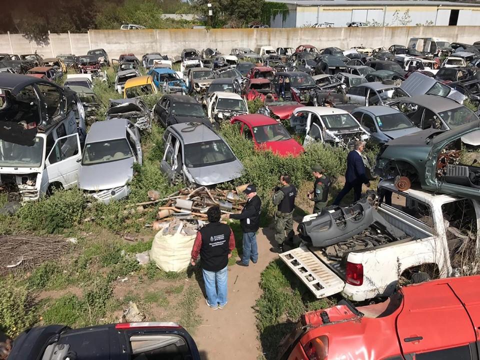 Venado Tuerto: Secuestraron 4100 vehículos en seis procedimientos - Colón Doce