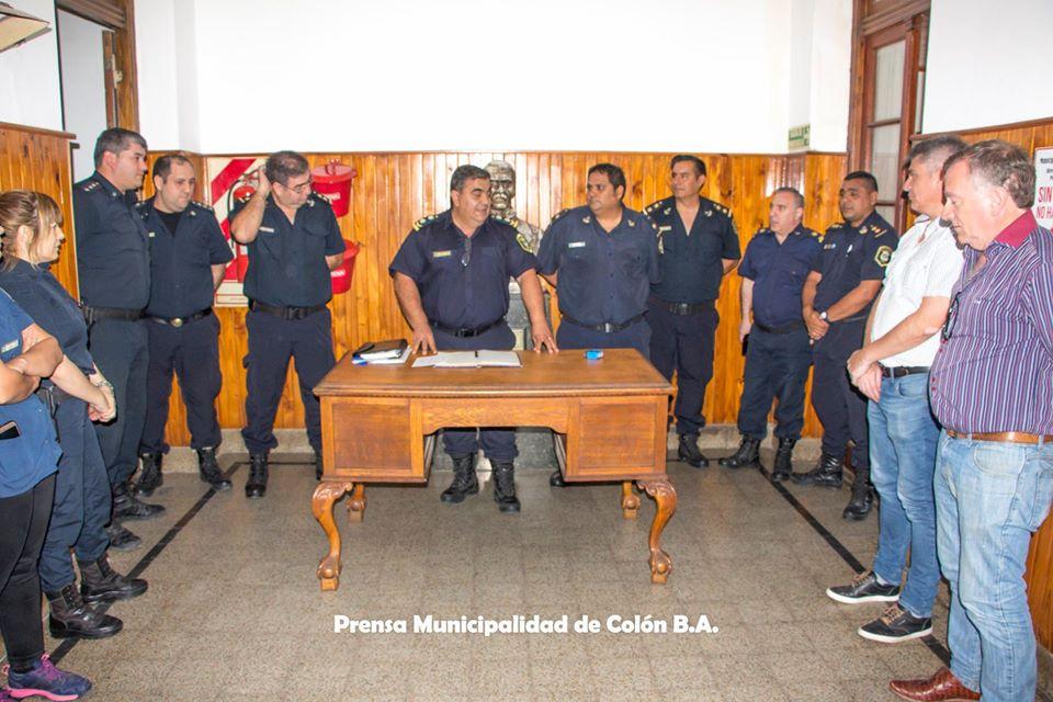 Colón: Nuevo Jefe en la Estación de Policía Comunal - Colón Doce
