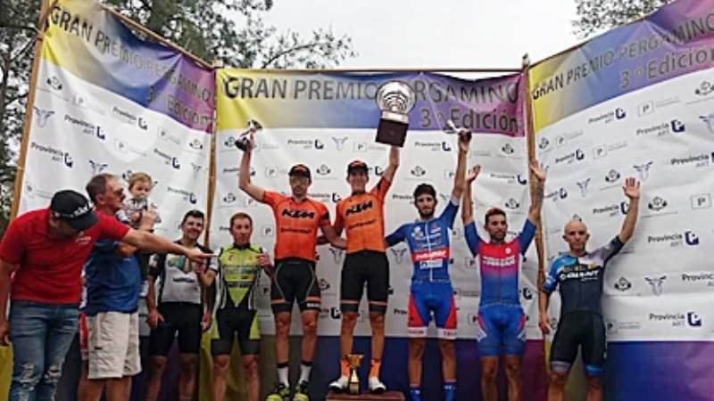 Gran Premio Ciclístico en Pergamino: Sebastián Medina fue Cuarto - Colón Doce